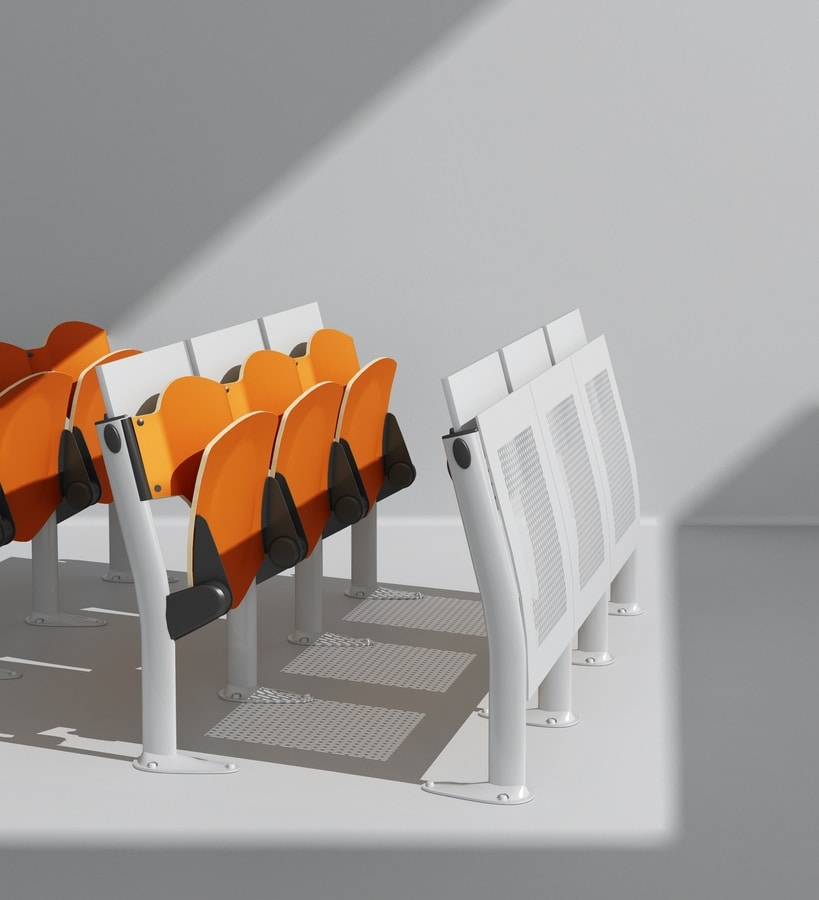 OMNIA, Programa de Multi- funcional de las tapas de asiento y de la escritura, de pequeño tamaño, para salas de conferencias y salas de conferencias