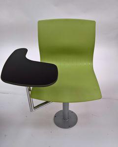 WEBBY 340/F with table, Silla giratoria, ajustable en altura, para aulas