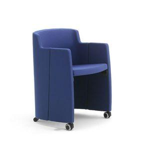 Clac, Sillón con ruedas para salas de espera