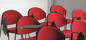 DELFI 082 TDX, Silla con base de metal para salas de conferencias