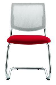 Q44, Silla con asiento de malla para reuniones.