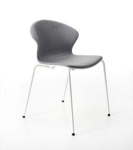 Red Hot 4 patas acolchado, Cómoda y elegante silla acolchada para conferencias