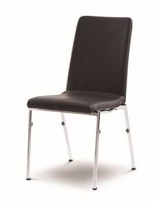 Evosa Congress 08/4, Silla de acero extremadamente c�moda, asiento moldeado, para salas de conferencias