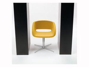 Vanity 4 feets, Silla tapizada para la conferencia, la base y la cáscara de acero