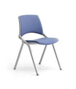 Key-Ok, Silla con asiento plegable para salas de conferencias y reuniones