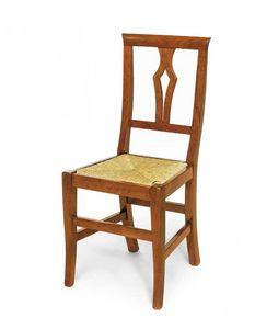 Art.104, Silla de madera con asiento de paja