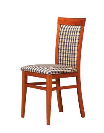 312, Acolchada silla de madera, simple y fuerte, para bares