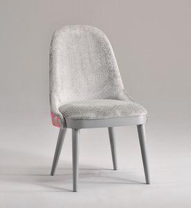 DALIA silla 8777S, Silla tapizada, con líneas limpias
