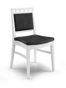 Gaia I, Acolchada silla de madera moderna, sala de estar