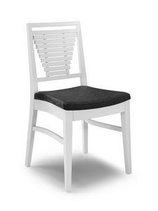 Gaia SC, Modernas sillas con respaldo con lamas horizontales