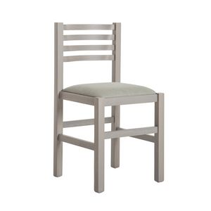 RP404Q, Silla de madera de haya con asiento acolchado