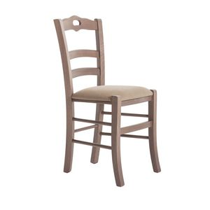 RP42C, Silla de madera con asiento personalizable
