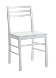 Us Foggia, Silla de madera para cocinas, silla moderna para el hogar