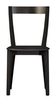 Us Gioy, Silla moderna Negro adecuado para cocina, silla de madera para bar y restaurante