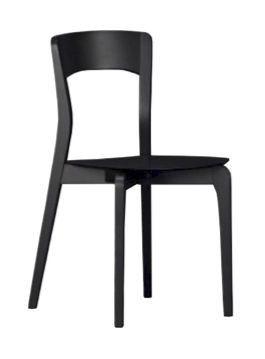 Us Isotta, Silla de madera para la cocina, silla moderna para la barra