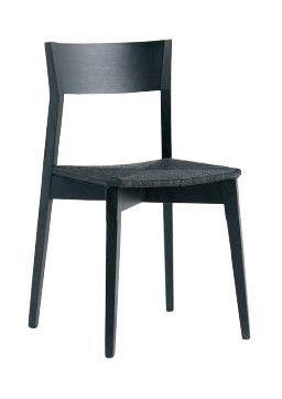 Us Miss, Silla Negro para la barra, silla con asiento tapizado para la cocina