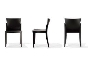 E-Chair, Silla apilable apropiada para el cafés y bares