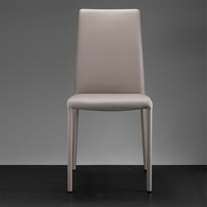 ART. 301 SARAH SOFT COVERED HIGH BACK, Silla con respaldo alto, silla de cuero para los restaurantes