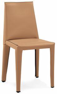 Dab silla 10.0150, Sillas tapizadas en cuero