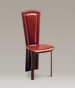 Imperiale, El respaldo de la silla de cuero es todo en uno con las patas traseras