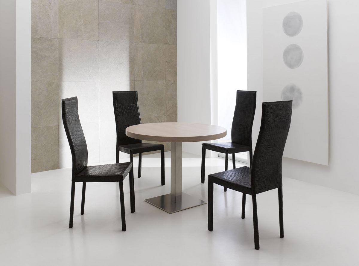 Comedor silla con respaldo alto tapicer a de cuero idfdesign - Tapiceria de sillas de comedor ...