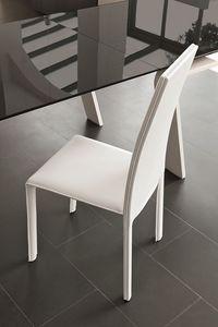MIAMI SE136, Silla de cuero ideal para restaurantes