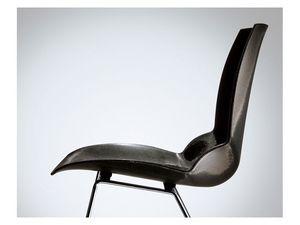 Kaleidos, Silla con asiento acolchado, cubierta de polímero especial