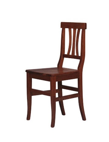 185, Rústica silla hecha enteramente de madera de haya, para los hoteles