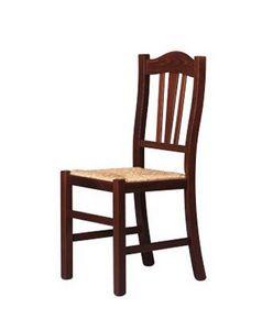 200, Comedor silla con respaldo decorado, para vacaciones de la granja