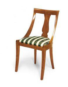 Art. 144, Silla de estilo clásico, con cómodo asiento acolchado.