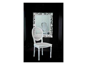LUIGI XVI chair (with cane) 8323S, Silla tradicional de estilo Luis XVI, en la caña