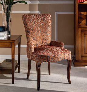 Napoleone silla, Silla de madera acolchada