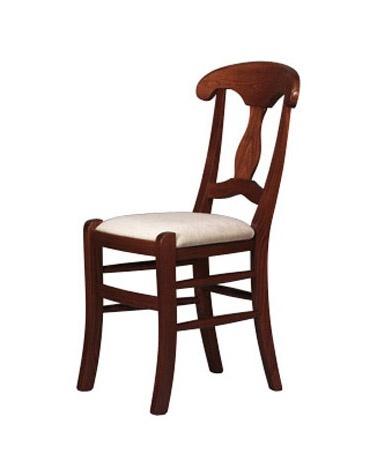 216, Madera rústica silla sólida, para los restaurantes y pizzerías
