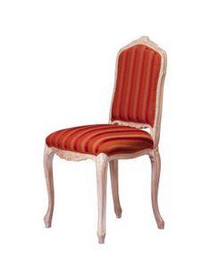 1004, Silla clásica en madera de haya trabajado, para hotel