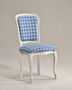 BRIANZOLA silla 8017S, Silla de estilo Luis XV, para sala de conferencias elegante