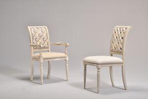 GABRY silla 8257S, Silla clásica, tapizado, haya, para el café histórico