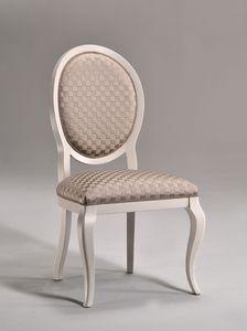 LICA silla 8432S, Cena de la silla, asiento tapizado, para sala de estar