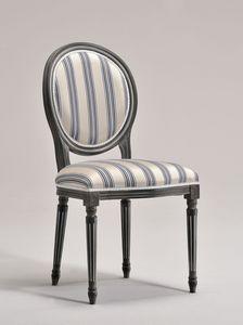 LUIGI XVI chair 8023S, Silla de comedor, de diseño tradicional, para el restaurante