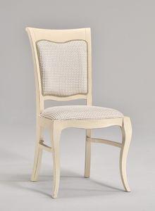 MILUNA chair 8314S, Silla acolchada para salas de estar de estilo clásico