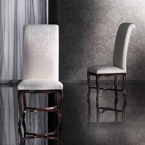 SISSI silla 8491S, Haya silla hecha a mano, espalda alta, clásico
