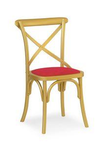 Ciao Imb, Silla de madera maciza, en varios colores
