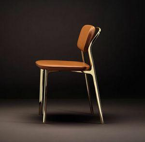 Coast Chair, Silla con una mezcla de l�neas rigurosas y suaves