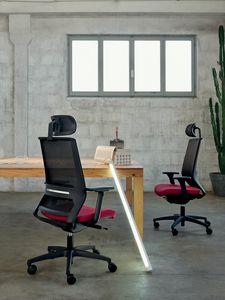 Logica 01 PT, Silla de trabajo para oficinas modernas