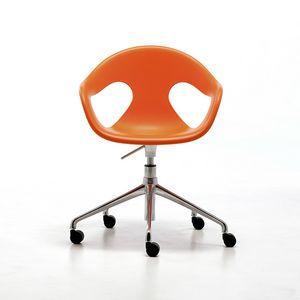 Sunny HO, Silla de oficina en casa, giratorio y ajustable en altura