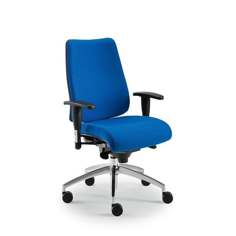 DD Dinamica executive 53712, Silla de oficina con ruedas y altura regulable