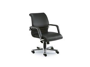 Elegance executive 2842, Silla de oficina ejecutiva en cuero