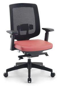 Jack 01, Modernas sillas para oficinas ejecutivas, con un neto