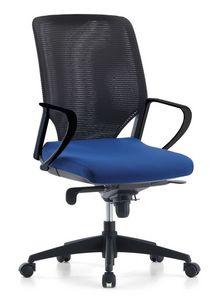 Karina AIR 01, Silla de oficina de gestión, respaldo en malla