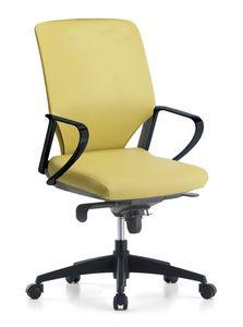 Karina Soft 01, Silla de oficina direccional, con ruedas giratorias