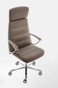 Klivia, Sillón ejecutivo, con ajustes incorporados en el asiento